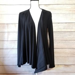 Beyond Yoga black open front cardigan (21-022)